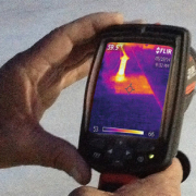 Roof thermal imaging